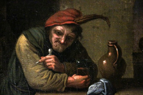 Paintings & Drawings  - Flemish school of the 17th century - Attributed to David II Teniers (1610-169