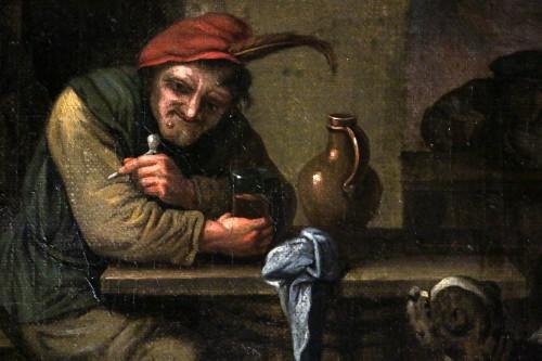 Flemish school of the 17th century - Attributed to David II Teniers (1610-169 -