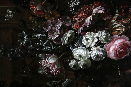 17th century - Garland of flowers - attributed to Peter Casteels I says the ancient-17th century