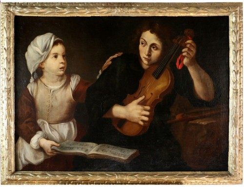 Caravaggesque school of the 17th century attributed to Nicolas Régnier's st