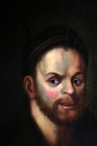 Portrait -  Dutch school of the 18th century after Ferdinand Bol -