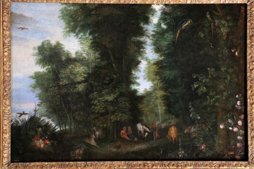 Flemish school of the 17th century - Jan Brueghel the former and workshop - Paintings & Drawings Style Louis XIII