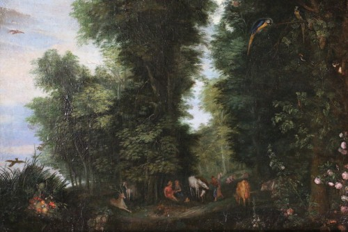 Paintings & Drawings  - Flemish school of the 17th century - Jan Brueghel the former and workshop