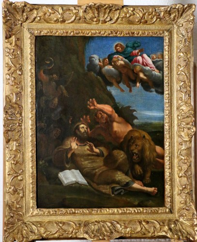 The temptation of St. Anthony - School Annibale Carracci (1560-1609)