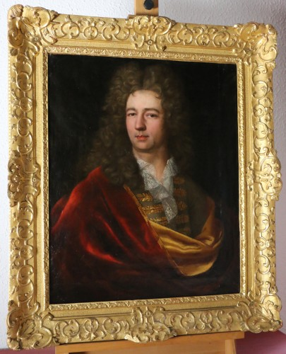 Portrait of a Gentleman - Jean Ranc (1674-1735) and workshop - Paintings & Drawings Style Louis XIV