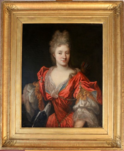 Lady in Diane chasseresse - François de Troy's workshop (1645-1730)