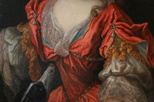 17th century - Lady in Diane chasseresse - François de Troy's workshop (1645-1730)