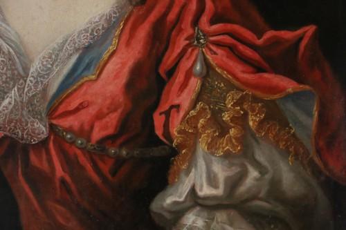 Lady in Diane chasseresse - François de Troy's workshop (1645-1730) - Louis XIV