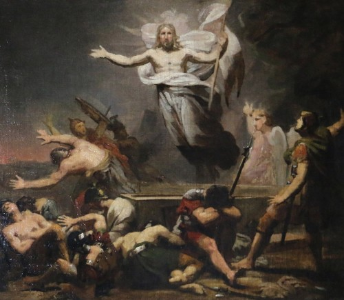 GERICAULT Théodore (1791-1824) -The resurrection of Christ around 1812-1814