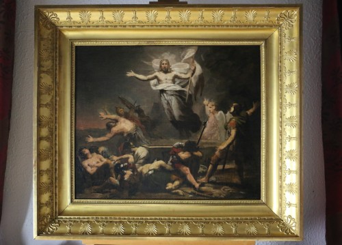 GERICAULT Théodore (1791-1824) -The resurrection of Christ around 1812-1814 - Paintings & Drawings Style Empire