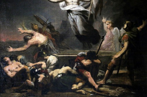 Paintings & Drawings  - GERICAULT Théodore (1791-1824) -The resurrection of Christ around 1812-1814