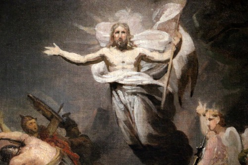 GERICAULT Théodore (1791-1824) -The resurrection of Christ around 1812-1814 -