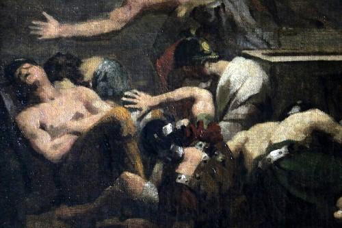 19th century - GERICAULT Théodore (1791-1824) -The resurrection of Christ around 1812-1814
