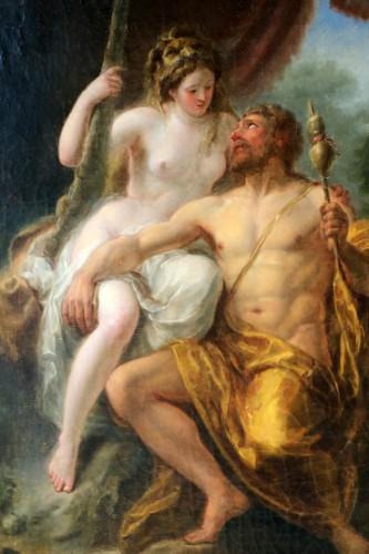 Hercule et Omphale - Paintings & Drawings Style Louis XV