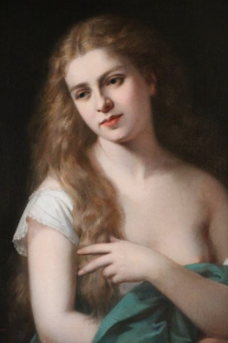 Pierre Paul Emmanuel de POMMAYRAC (1807-1880) Portrait of a girl -