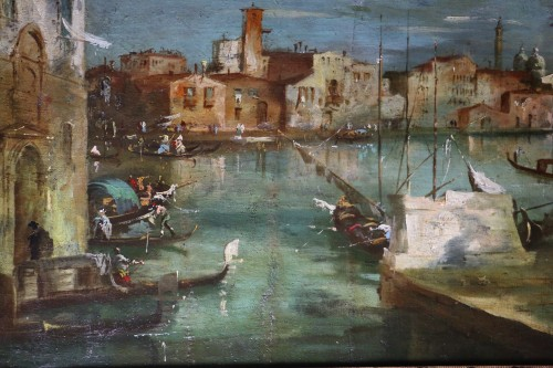 Paintings & Drawings  -  School of Francesco Guardi of the late 18th-Venice View