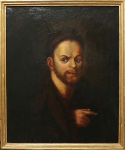 Portrait of Rabelais-French School of the late eighteenth century - Paintings & Drawings Style Transition