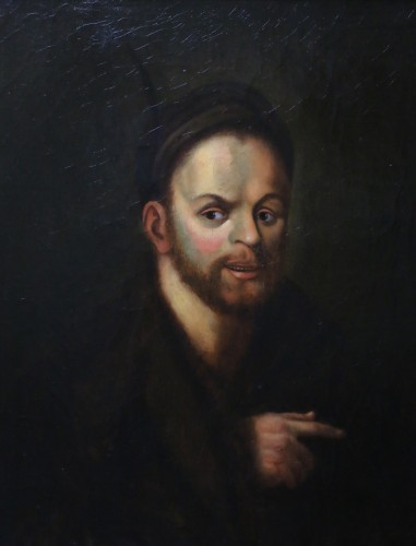 Paintings & Drawings  -  Portrait of Rabelais-French School of the late eighteenth century