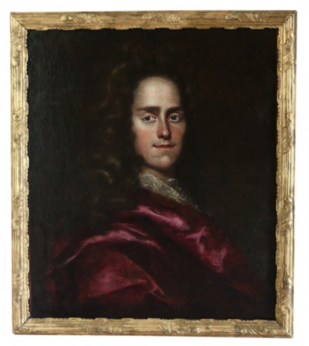 Portait of a young Lord - English School of the 17th century attributed to Godfrey Kneller (1646-1723
