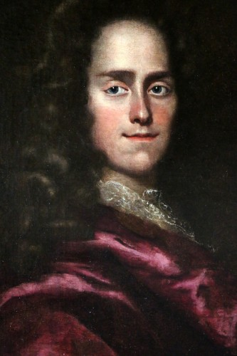 Portait of a young Lord - English School of the 17th century attributed to Godfrey Kneller (1646-1723 -