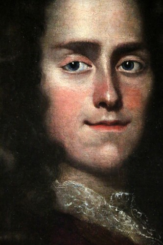 Portait of a young Lord - English School of the 17th century attributed to Godfrey Kneller (1646-1723 - Louis XIV