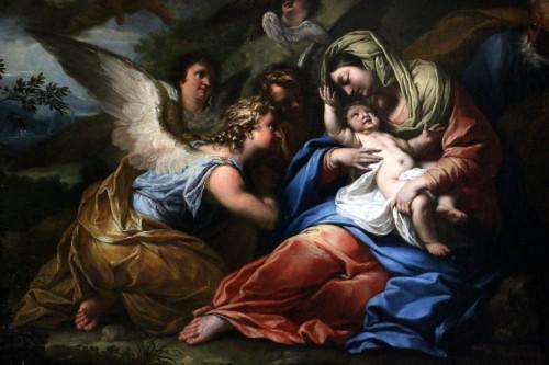 Paintings & Drawings  -  17th century Roman School attributed to Francesco Trévisani (1656-1746)