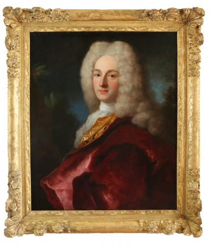 Henri Millot (died in 1759) pupil of Nicolas de Largillières-attributed