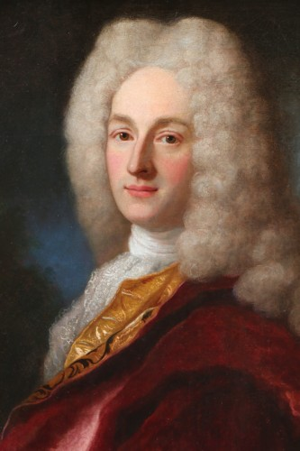 Paintings & Drawings  - Henri Millot (died in 1759) pupil of Nicolas de Largillières-attributed