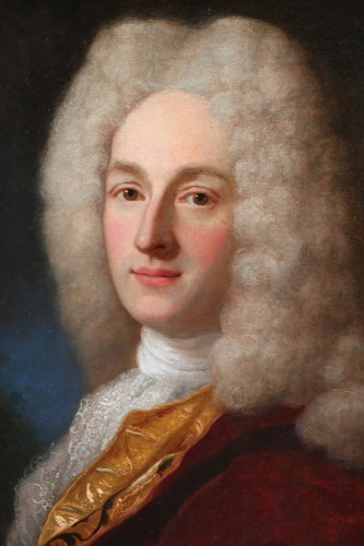 Henri Millot (died in 1759) pupil of Nicolas de Largillières-attributed -