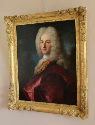 Antiquités - Henri Millot (died in 1759) pupil of Nicolas de Largillières-attributed