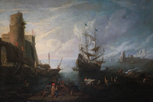 Dutch School of the 17th century attributed to Adriaen van der Kabel. - Paintings & Drawings Style Louis XIV