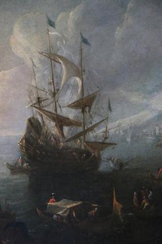 Paintings & Drawings  - Dutch School of the 17th century attributed to Adriaen van der Kabel.