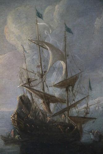 Dutch School of the 17th century attributed to Adriaen van der Kabel. -