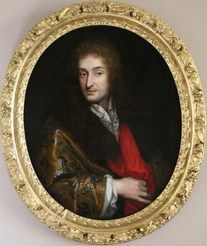 Portrait of a Gentleman around 1680 - attributed to Pierre Mignard (1612-1695)  - Paintings & Drawings Style Louis XIV