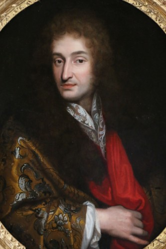 Paintings & Drawings  - Portrait of a Gentleman around 1680 - attributed to Pierre Mignard (1612-1695)