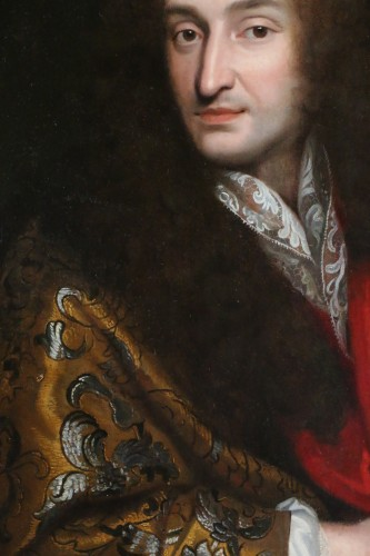 Louis XIV - Portrait of a Gentleman around 1680 - attributed to Pierre Mignard (1612-1695)