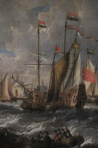 Marine -  Peter van den Velde (1634-1687) -