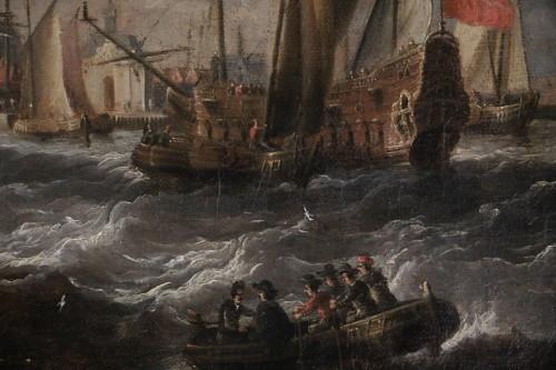 17th century - Marine -  Peter van den Velde (1634-1687)