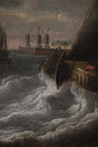 Marine -  Peter van den Velde (1634-1687) - Louis XIII