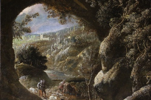 Paintings & Drawings  - Joos II of Momper (1564-1635) attributed - Animated landscape
