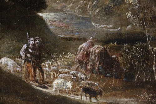 Joos II of Momper (1564-1635) attributed - Animated landscape  -