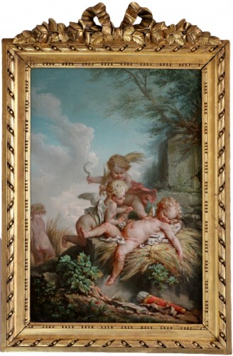 Jean-Baptiste Huet (1745-1811) Attributed-Allegorical scene-late 18th