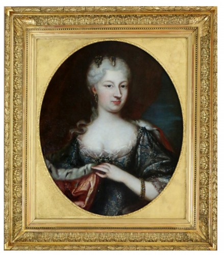 Maria Giovanna Clementi-Portrait of Polissena or Polixena, Queen of Sardi