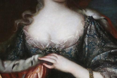Antiquités -  Maria Giovanna Clementi-Portrait of Polissena or Polixena, Queen of Sardi