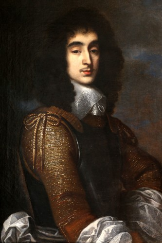 Portrait of a young man circa 1640- Attributed to Gerrit van Honthorst (Utrecht,1590-1656) -