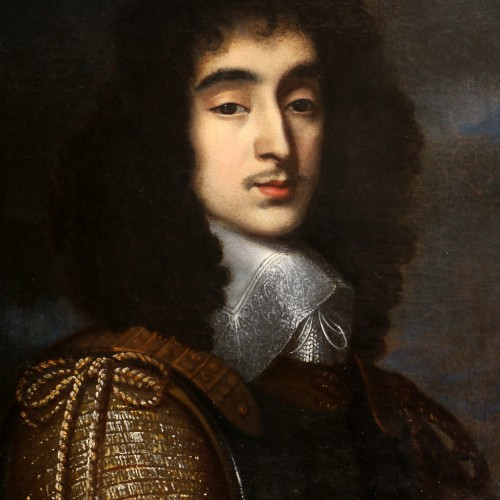 Portrait of a young man circa 1640- Attributed to Gerrit van Honthorst (Utrecht,1590-1656) - Louis XV