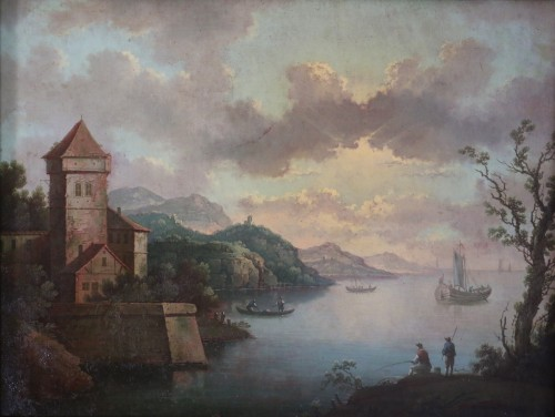 Paintings & Drawings  - Attributed to Carlo Bonavia (born in Rome-died in 1788)