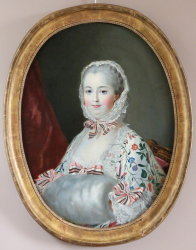 Napoléon III - Madame De Pompadour  French school of the 19th century after Drouais