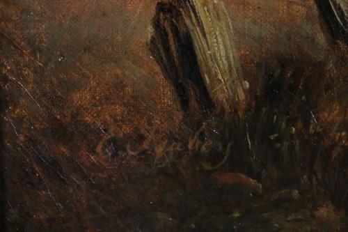 Eugene Isabey (1804-1886)- Marine and animated maritime landscape. - Napoléon III
