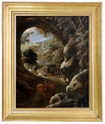 David Téniers the Younger (1610-1690) -attributed-Animated Landscape circa